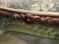 Victorian Mahogany Sofa (6 of 10)