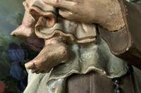 Bohumil Kafka RARE Carved Statue Sculpture St Anthony & Jesus (27 of 32)