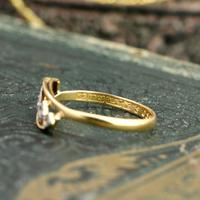 The Antique Art Deco Five Chip Diamond Ring (4 of 4)