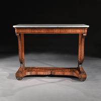 Pair Of Early 19th Century Italian Walnut And Marble Top Console Tables (8 of 10)