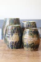 Scottish Pottery Slipware Barrel Storage Jars x4 (24 of 35)