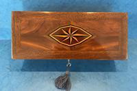 Victorian Burr Maple, Mahogany & Walnut Box (5 of 11)