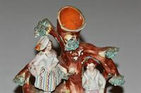 19th Century Staffordshire Spill Vase of a Courting Couple (2 of 5)