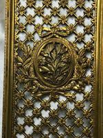 19th Century Antique Regency Gilt Bronze Coat of Arms Sunflower Acanthus Plaque (12 of 12)