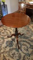 Fine Quality Plum Pudding Wine Table or Lamp Table with Birdcage Operation (6 of 7)