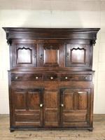 18th Century Welsh Oak Deuddarn Cupboard (2 of 12)