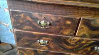 Scottish Scumbled Pine Grained Kitchen Crofters Cabinet (4 of 5)