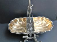 Antique Victorian Silver Plated Folding Biscuit Box (2 of 5)