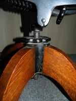 Oak Desk Chair - Adjustable (7 of 7)