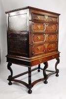 Late 17th Century Oak Chest on Stand (2 of 15)