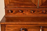 George III Sheraton Period Secretaire Cabinet (7 of 9)