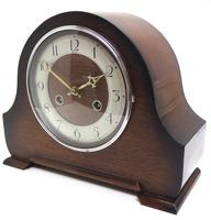 Good Hat Shaped Mantel Clock – Striking 8-day Arched Top Mantle Clock (4 of 10)