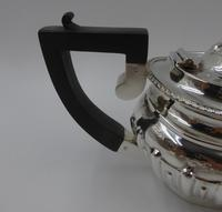 Antique Silver Batchelors Tea Set - Birmingham 1902 (4 of 13)
