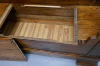 French Walnut and Cherry Empire Style Window Seat (8 of 8)