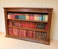 Substantial Oak Open Bookcase (8 of 9)