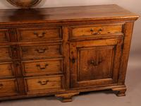 Superb Georgian Oak Serving Dresser Large (10 of 20)