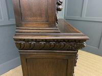 Imposing Carved Oak Bookcase (18 of 23)