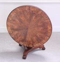 19th Century Rosewood Tilt-top Coffee Table (5 of 9)
