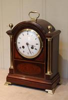 Mahogany and Inlay Bracket Clock (2 of 13)