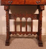 Spanish Renaissance Cabinet Bargueno in Walnut - Early 17th Century (2 of 18)