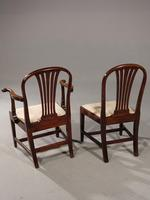 Good Set of 8 George III Period Hooped Backed Dining Chairs (5 of 5)