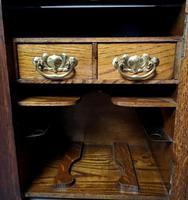 Antique Art Nouveau Oak Smokers Cabinet (12 of 13)