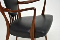 Rosewood & Leather Dining Table & Chairs by AJ Milne for Heals (21 of 22)