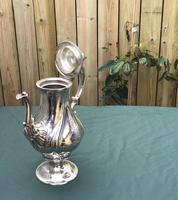 Georgian Silver Plated Coffee Pot (3 of 6)