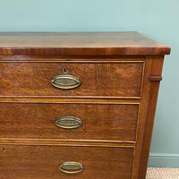 Georgian Oak Country Antique Chest of Drawers (7 of 8)
