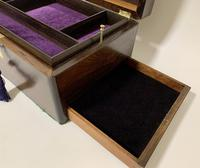 Antique Fitted Rosewood Jewellery Box (7 of 12)