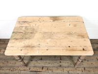 Rustic Pine Kitchen Table (2 of 10)