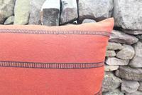 Swedish 'Folk Art' Vintage Large Woven Röllakan Cushion c.1930 (16 of 26)