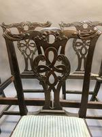 Set of 18th Century Mahogany Dining Chairs (3 of 21)