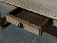 Large French Bleached Oak Coffee Table (11 of 14)