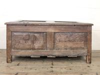 Antique 17th Century Carved Oak Coffer (10 of 10)