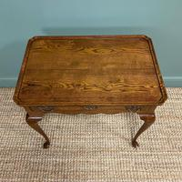 Victorian Oak Antique Silver Table (3 of 6)