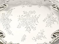 Sterling Silver Jewellery Box - Antique Edwardian 1908 (6 of 12)