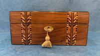 Victorian Walnut Inlaid Jewellery Box (2 of 12)