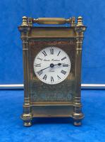 Victorian Gilt Brass  Charles Frodsham Carriage Clock (2 of 11)
