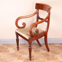 Set of Eight 19th Century Mahogany Dining Chairs (23 of 26)