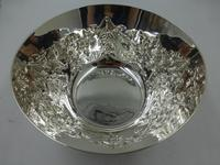 Antique Silver Bowl London 1900 by Charles Edwards (3 of 11)