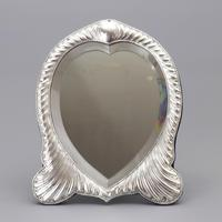 Fine Antique Silver Dressing Table Mirror by William Comyns London 1893 (10 of 10)