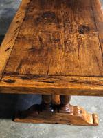 Wonderful French Chestnut Farmhouse Refectory Dining Table (6 of 37)