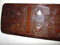 Carved Fruitwood Freizland Mangelplack, Dated 1720 (2 of 7)