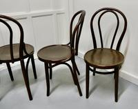 Set of 4 Bistro Bentwood Chairs (4 of 5)