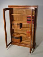 Late 19th Century Oak Two Door Bookcase (4 of 6)