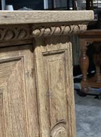 Large French Bleached Oak French Sideboard (10 of 24)