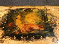 Antique Venetian Polychrome Painted Coffee Table (2 of 9)
