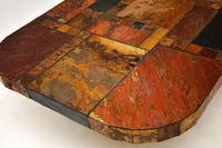 Large Swedish Stone Vintage Coffee Table (4 of 11)