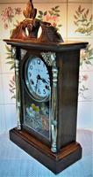 Rare 1895 Japanese Striking Shelf Clock by Takara (5 of 6)